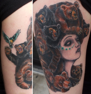 Tattoo by Myles Karr