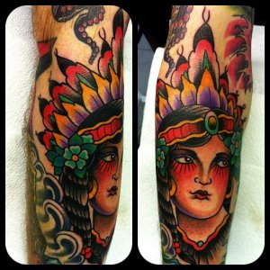 Tattoo by Kris Magnotti